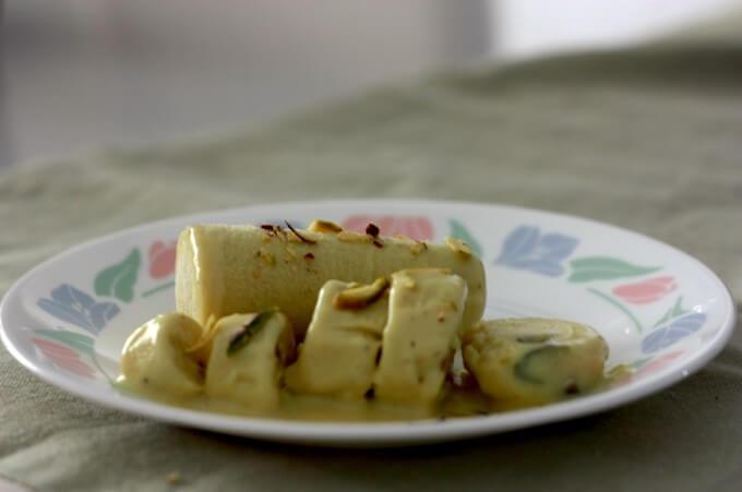 Indian kulfi recipe, dry fruits ice-cream