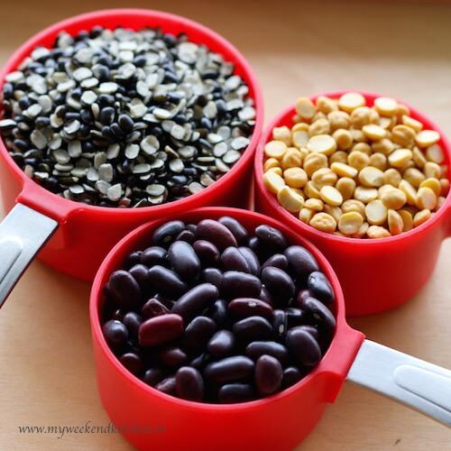 mix dal recipe ingredients, dhabey wali dal ingredients