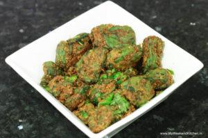 arbi ke patte ki sabzi, arbi leaves recipe