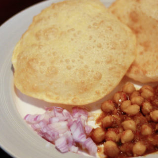 Healthy Chole Bhature Recipe