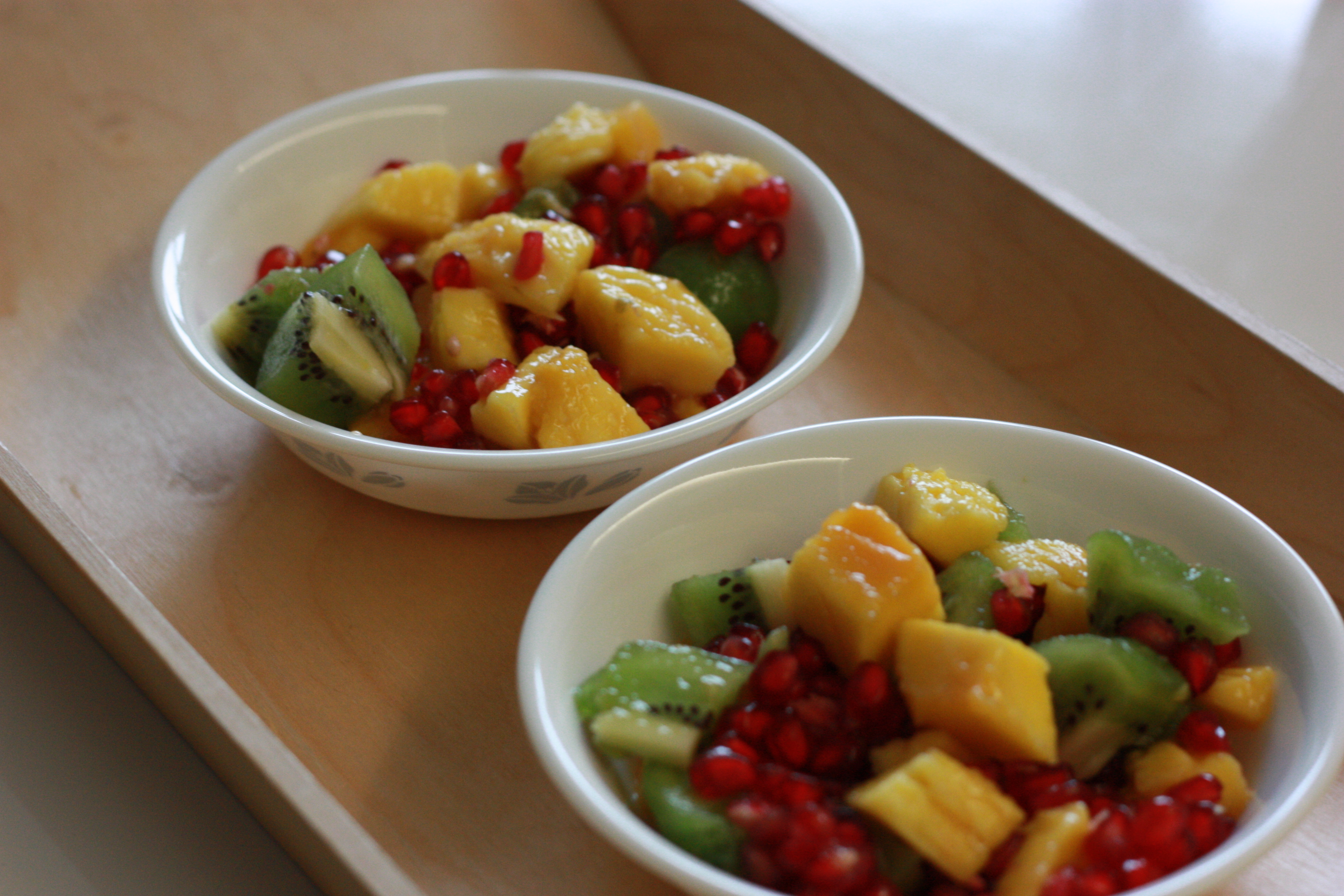 Fruit Bowl - a Healthy anytime anywhere snack