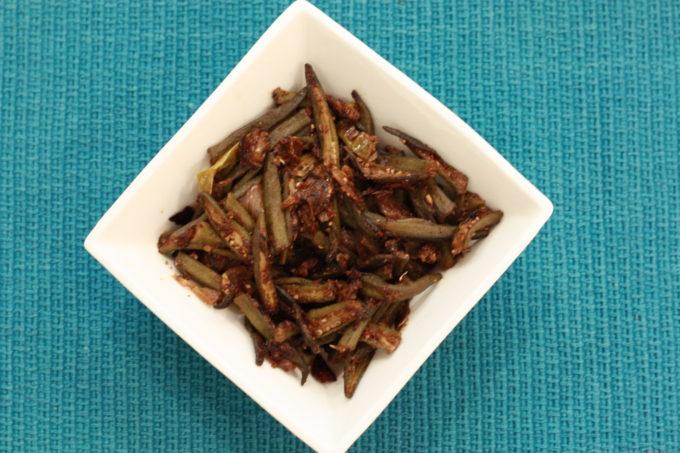 Achaari Masala Bhindi (Pickled Okra fry)