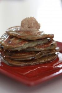 Cranberry and Blueberry Pancake recipe