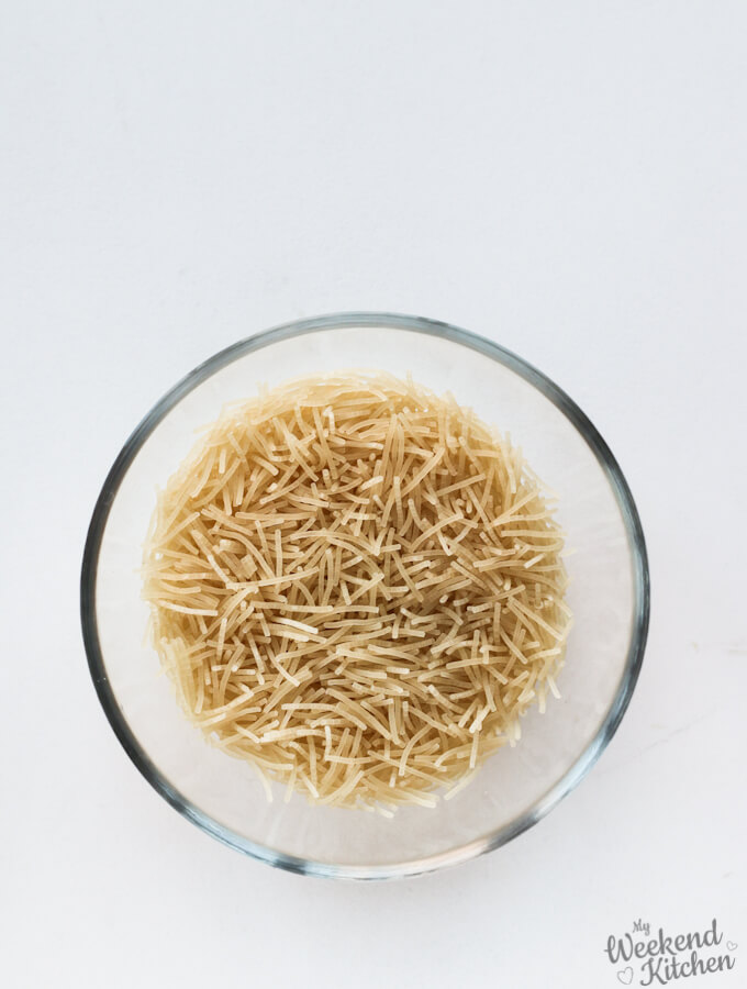 gluten free vermicelli rice for upma recipe