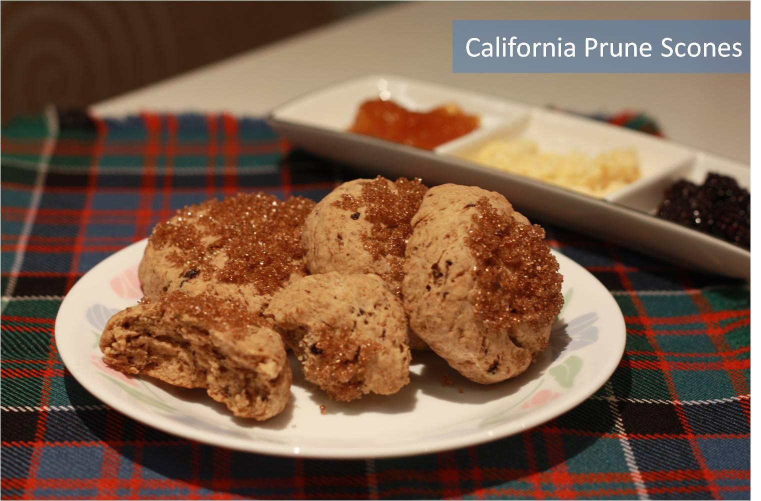 California Prune Scones