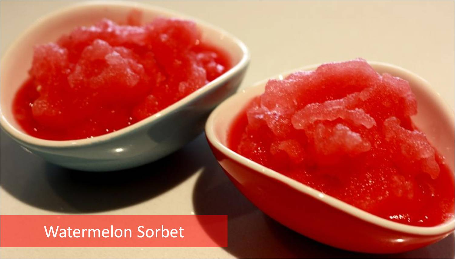 Watermelon Sorbet Recipe - My Weekend Kitchen