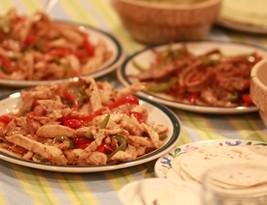 Chicken and Beef Fajita