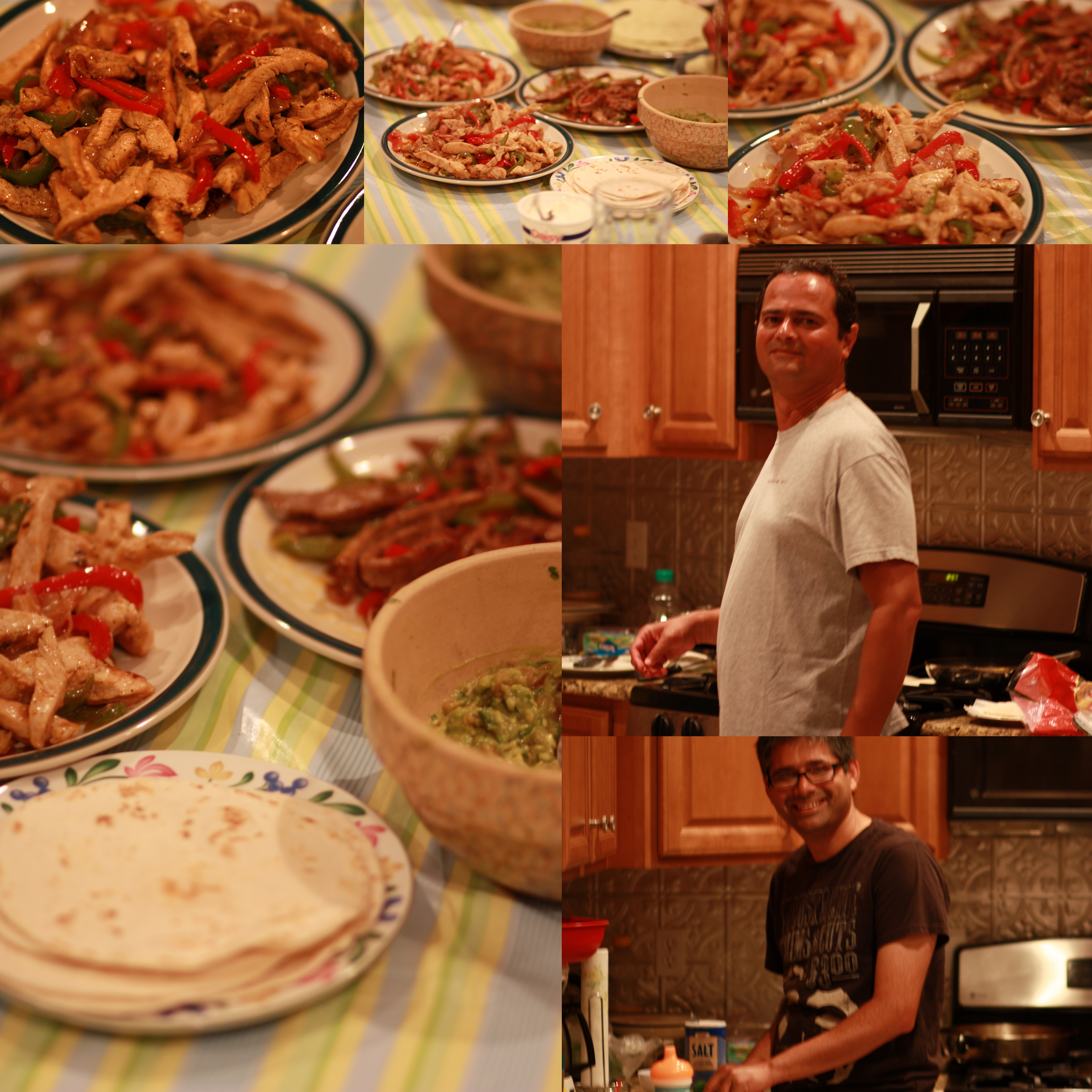 Chicken and beef fajitas for Ayaan indian cuisine