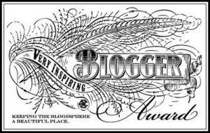 A Blogger award – Walking down the Memory Lane