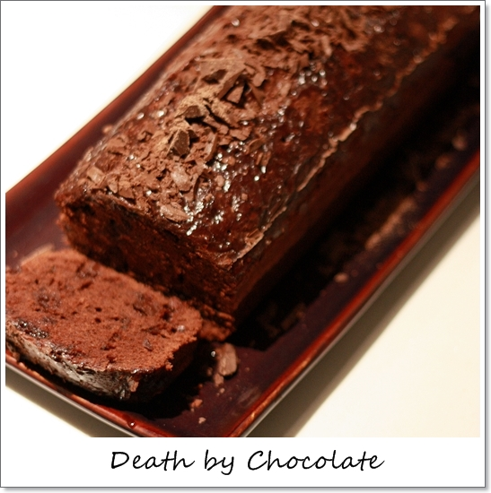 Death by Chocolate: Quadruple Chocolate Loaf Cake