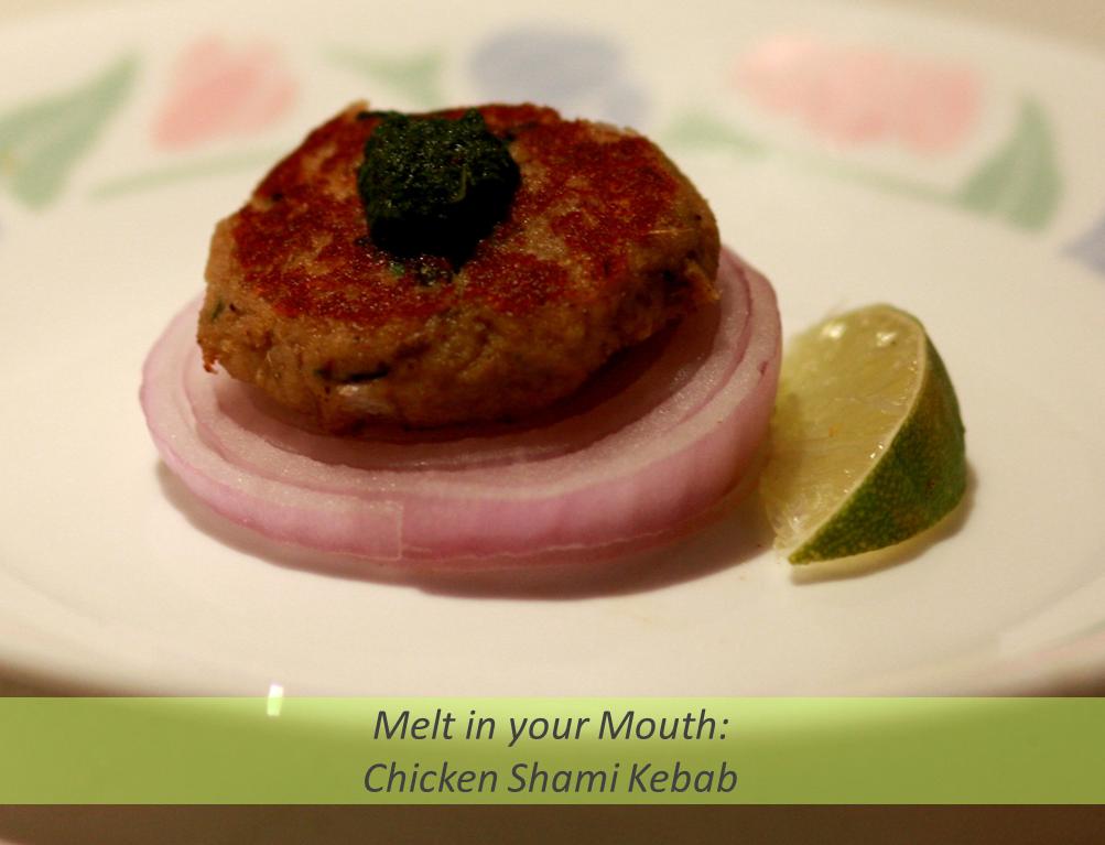Chicken Shami Kebab