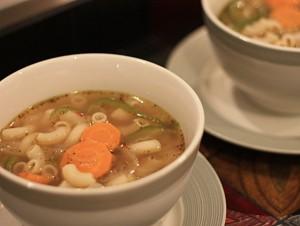 Clear Pasta Soup, Clear soup, pasta Soup