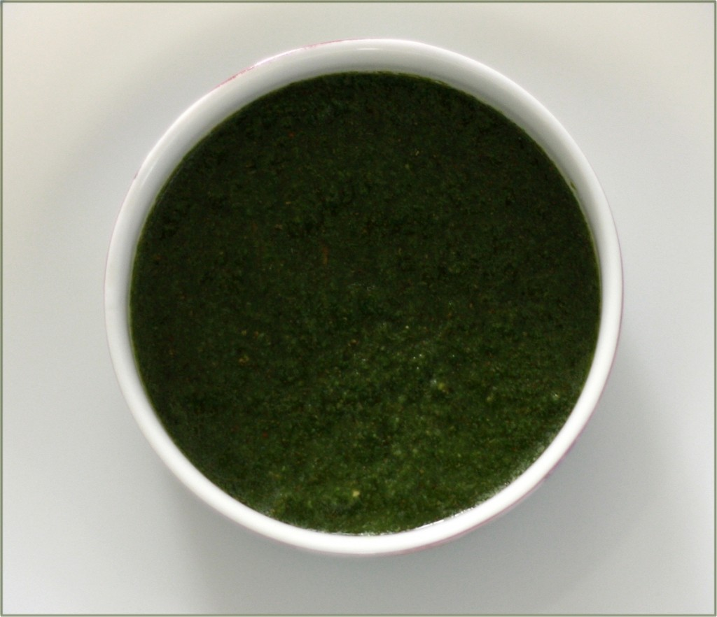 Green Chutney - Coriander and mint dip