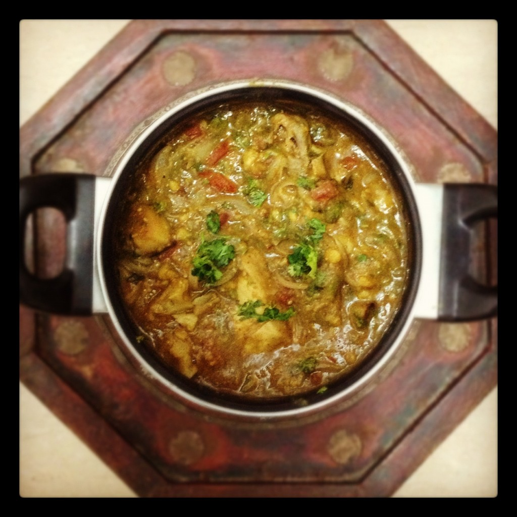 Chicken Dhansak