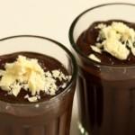 Chocolate pudding shot, Nigella recipe