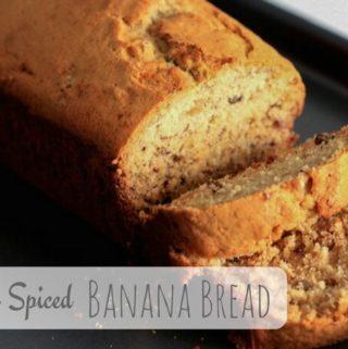 Winter Spiced Banana Bread