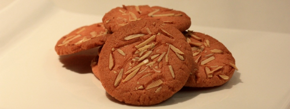 Orange and Almond Eggless Cookies