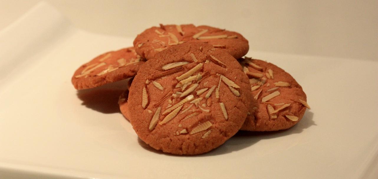 orange and almond cookies, eggless cookies recipe, cookies recipe, orange cookies recipe, almond cookies