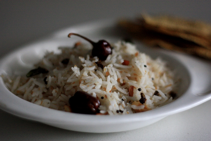 Thenganikai Annam/ Coconut Rice