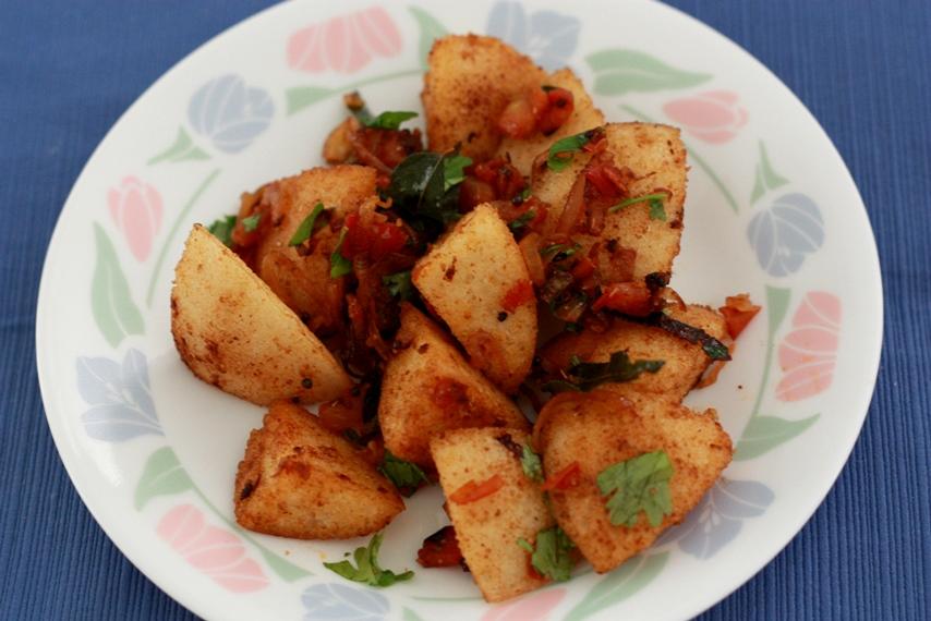 Leftover magic, fried idli, masala idli, rava idli, South Indian breakfast,