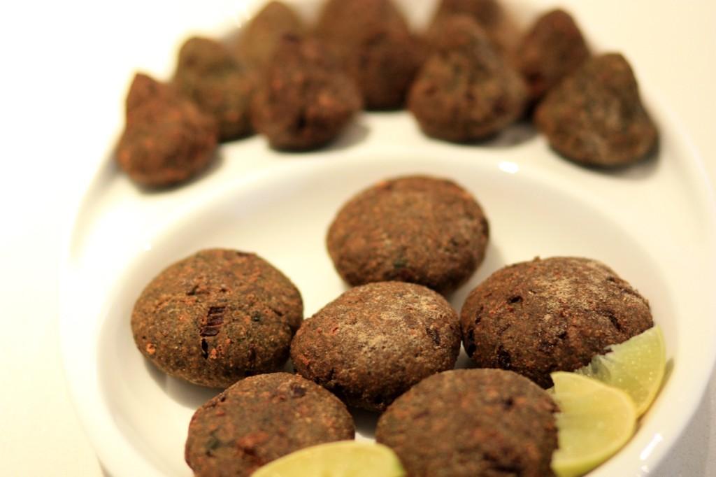 Palak Kabab, vegetarian kebabs, monsoon menu, snacks