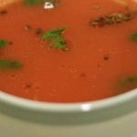tamatar ka shorba, tomato soup, North indian style tomato soup