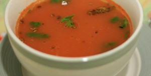 tamatar ka shorba, tomato soup, North indian style tomato soup