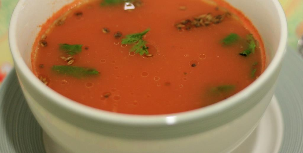 Tamatar Ka Shorba/ Tomato Soup Indian Style!