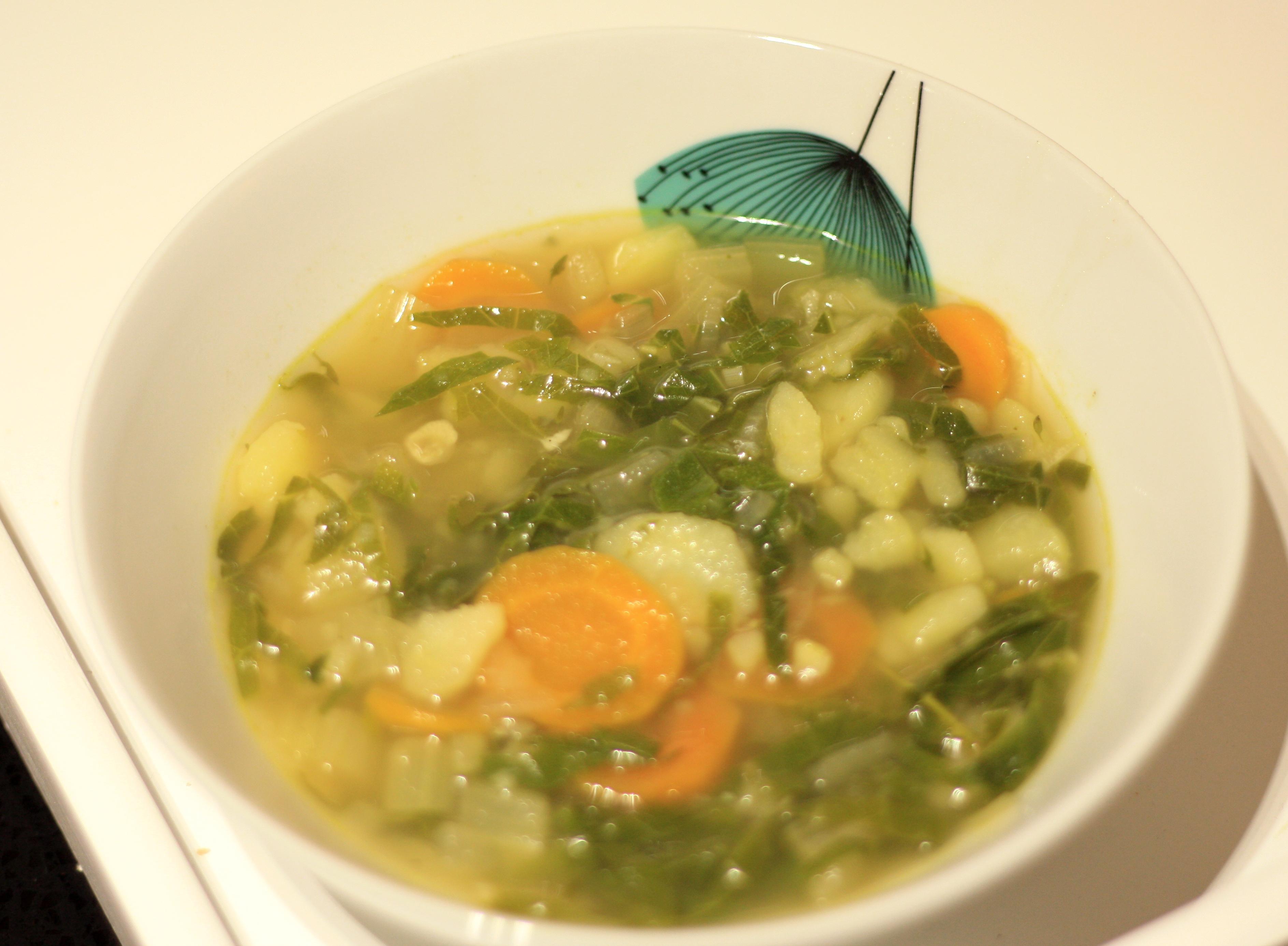 Caldo Verde – Portuguese Green soup