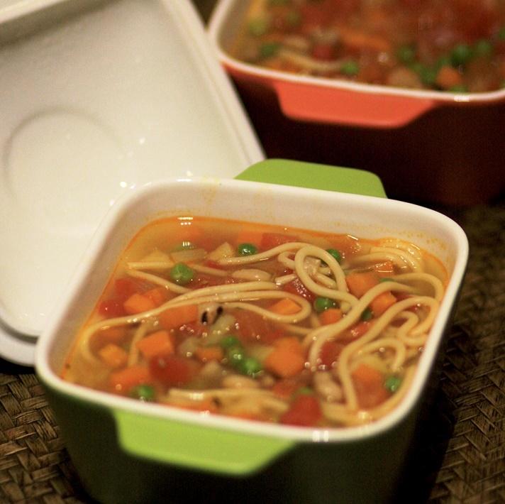 Vegetable Minestrone Soup, pasta soup, veggie soup