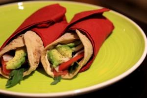 avocado salad wraps, quick lunches to go