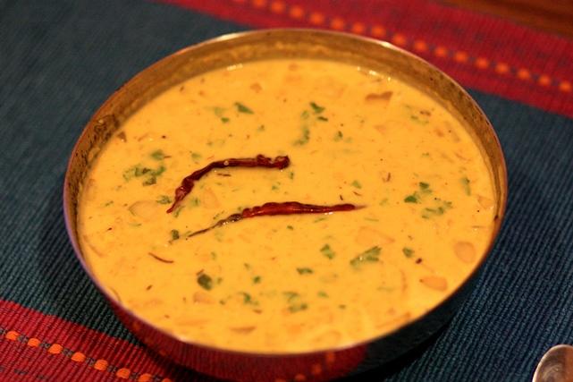 Daal Hardili – Saffron spiced yellow lentil