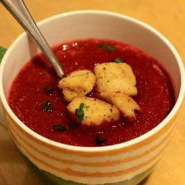 beetroot soup, beetroot recipes, soup night recipes