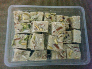 khopra pak, coconut barfi, Indian sweets