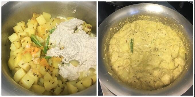 aloo posto recipe with step by step photos