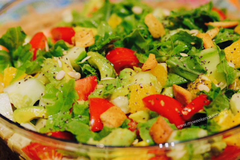 health in a bowl, salad bowl, apartment gardening, fresh homemade green salad