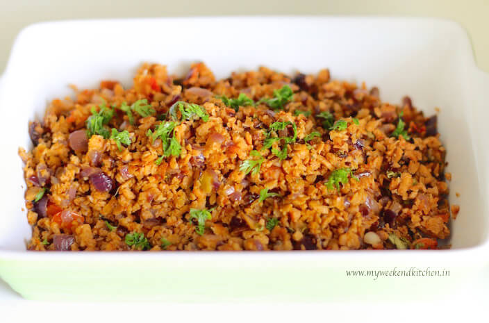 soya mince vegetable fry, soya mince recipe, quarantine cooking recipe ideas, recipes for lockdown