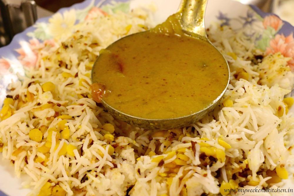 Dal chawal palita