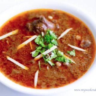 Mutton nihari recipe, nihari masala recipe