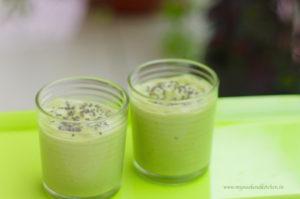 avocado breakfast smoothie
