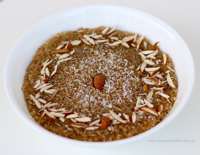 Lapsi – Broken Wheat Pudding with Jaggery