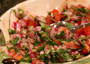 Pico de gallo dip recipe
