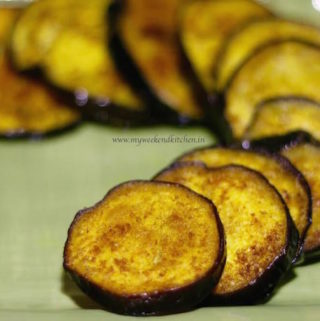 Baingan Bhaja recipe, Bengali begun bhaja recipe