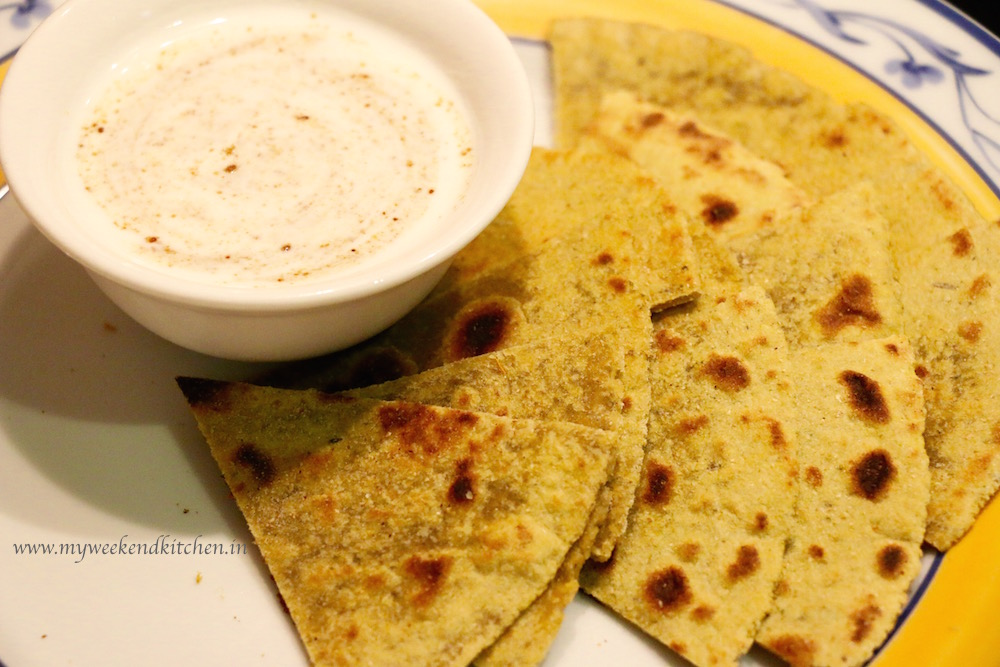 plain paratha recipe, Basic Flat Indian Bread recipe
