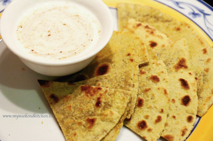 plain paratha recipe, simple Indian bread step by step recipe