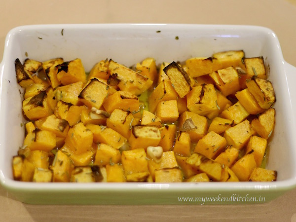 roasted butternut squash stew