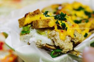 hidden eggs recipe, breakfast egg recipe