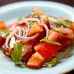 pappa al pomodoro, Italian bread and tomato salad