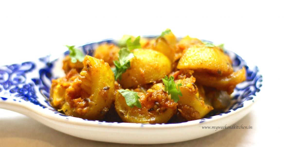 tinda masala with tomato recipe