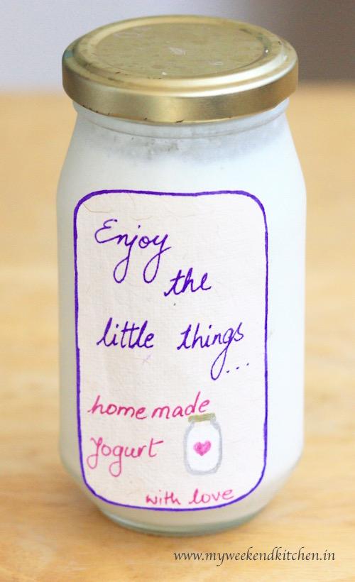 How to make yogurt at home without a yogurt maker